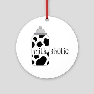 Milkaholic Ornament (Round)