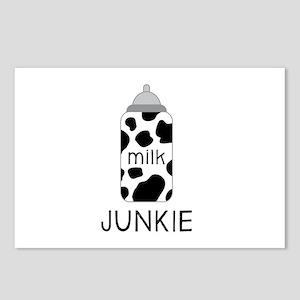 Milk Junkie Postcards (Package of 8)