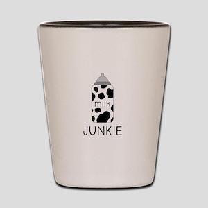 Milk Junkie Shot Glass