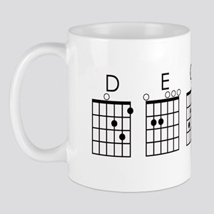 Decaf (guitar) Mug