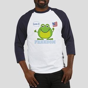 Freedom Frog: Baseball Jersey
