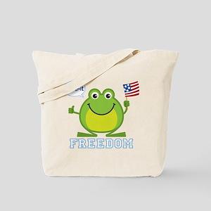 Freedom Frog: Tote Bag