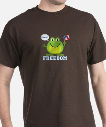 Freedom Frog: T-Shirt