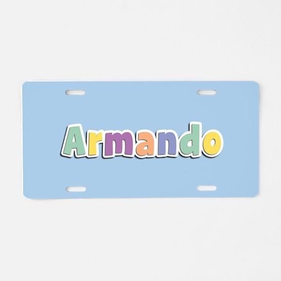 Armando Spring14 Aluminum License Plate