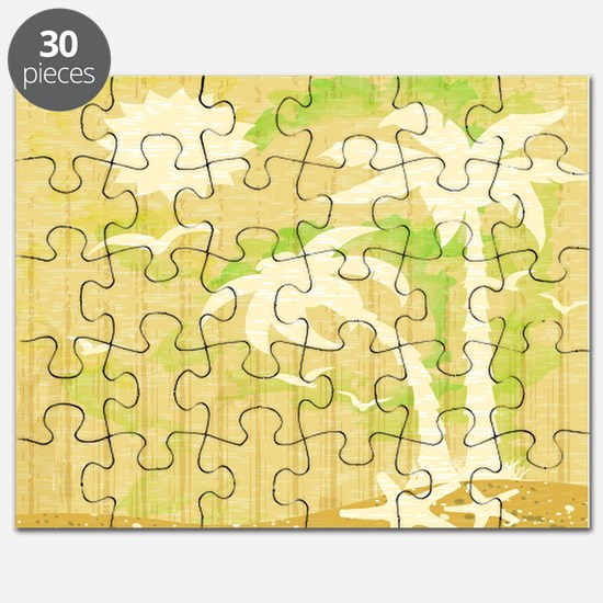 Summer fun palm trees Puzzle