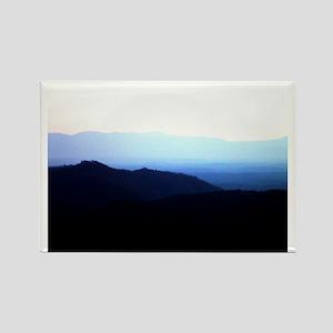 Blue Ridge Mountains Rectangle Magnet