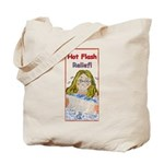 Hot Flash Ice Tub Tote Bag