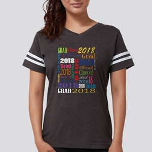 2018 Graduation Typography Womens Football Shirt