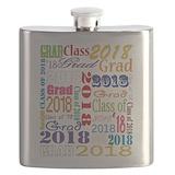 2018 graduation Flask Bottles