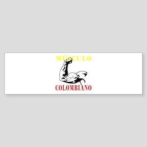 Músculo Colombiano Bumper Sticker