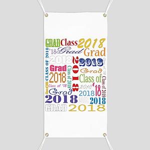 2018 Graduation Typography Banner