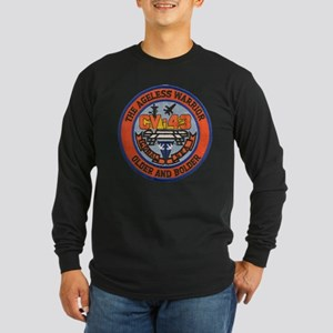 USS CORAL SEA Long Sleeve Dark T-Shirt