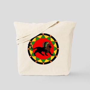 Jah King Rasta Lion Tote Bag
