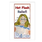 Hot Flash Ice Tub Postcards (Package of 8)