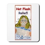 Hot Flash Ice Tub Mousepad