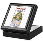 Hot Flash Ice Tub Keepsake Box