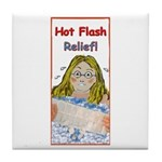 Hot Flash Ice Tub Tile Coaster