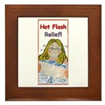 Hot Flash Ice Tub Framed Tile
