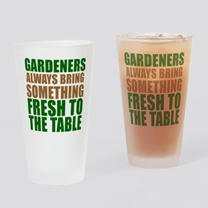 Gardeners Fresh To Table Drinking Glass