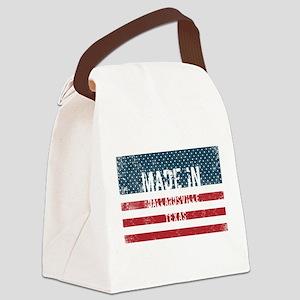 Made in Dallardsville, Texas Canvas Lunch Bag