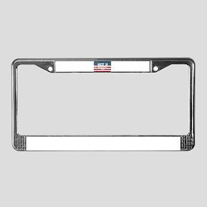 Made in Dallardsville, Texas License Plate Frame