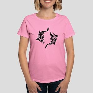 Koi Fish Women's Dark T-Shirt