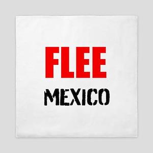 Flee Mexico Queen Duvet
