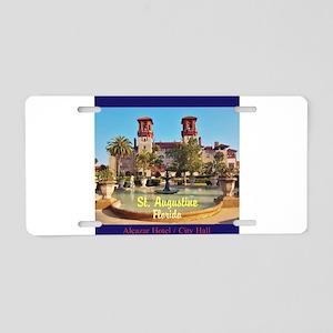 St. Augustine, Florida Aluminum License Plate