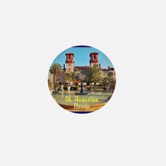St. Augustine, Florida Mini Button