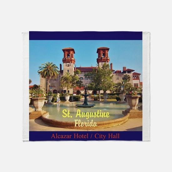 St. Augustine, Florida Throw Blanket