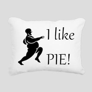 I Like Pie! Rectangular Canvas Pillow