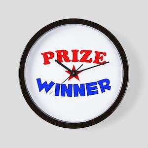 Prize Winner Wall Clock