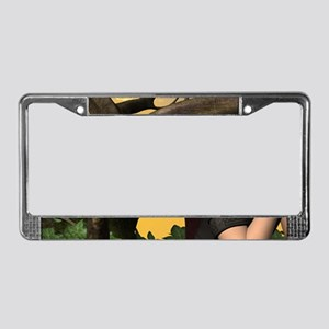 Sweet fairy License Plate Frame