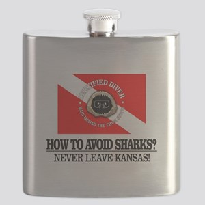 How To Avoid Sharks Flask