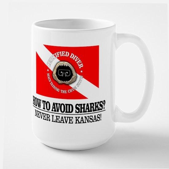 How To Avoid Sharks Mugs