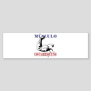 Músculo Costarriqueño Bumper Sticker