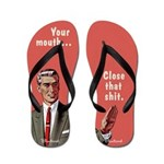 Your Mouth, By Bluntcard Flip Flops