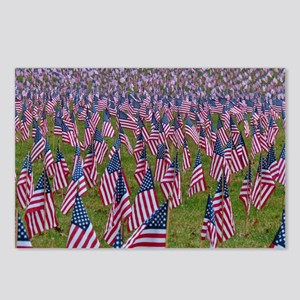 Field of Flags Postcards (Package of 8)
