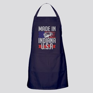 MADE IN INDIANA USA Apron (dark)