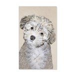 Havanese Puppy 20x12 Wall Decal
