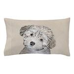Havanese Puppy Pillow Case