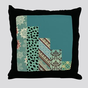 SEAFOAM & TEAL Throw Pillow