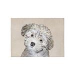 Havanese Puppy 5'x7'Area Rug