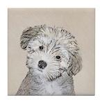 Havanese Puppy Tile Coaster