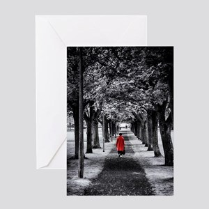 Red Coat Greeting Card
