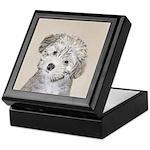 Havanese Puppy Keepsake Box