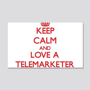 Keep Calm and Love a Telemarketer Wall Decal