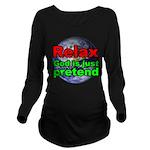 Relax v2 Long Sleeve Maternity T-Shirt