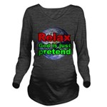 Relax v2 Long Sleeve Maternity T-Shirt