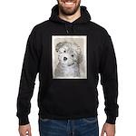 Havanese Puppy Hoodie (dark)
